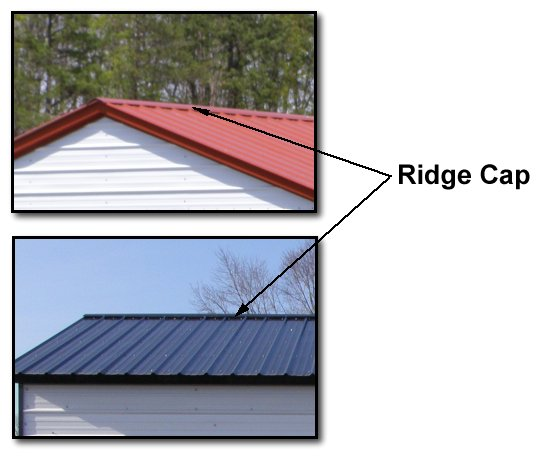 ... Ridge And Hip Caps · Flashing For Exposed Fastener Metal Roof Systems  Roofs ...
